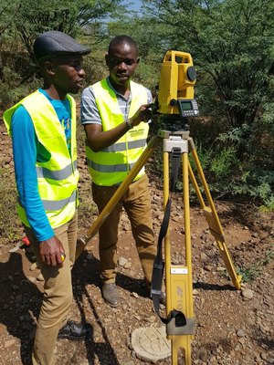 Topographical Survey in Kenya